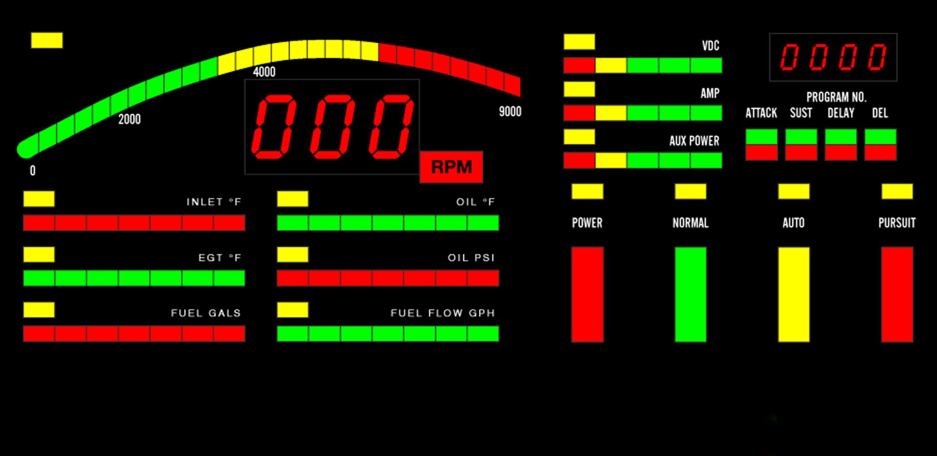 Knight Rider Dashboard iMid Wallpaper 2