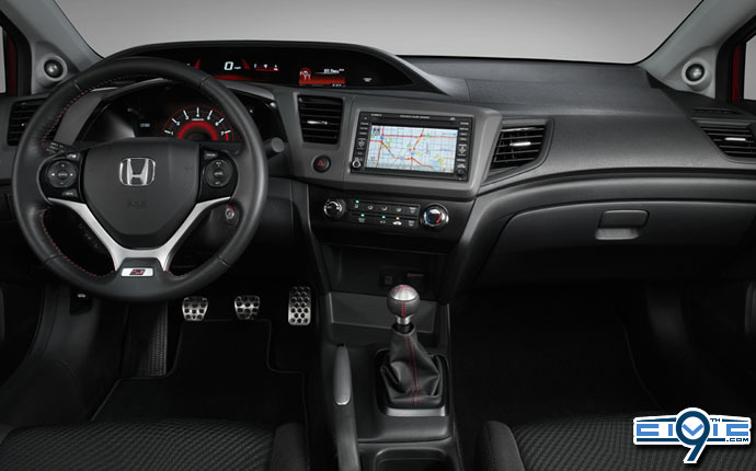 Exceptional 2012 Honda Civic SI Interior