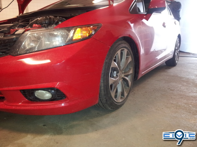 2012 Civic Si Coilovers