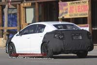 2012 Civic Sedan Spy Photo
