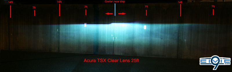 Acura TSX Clear Lens