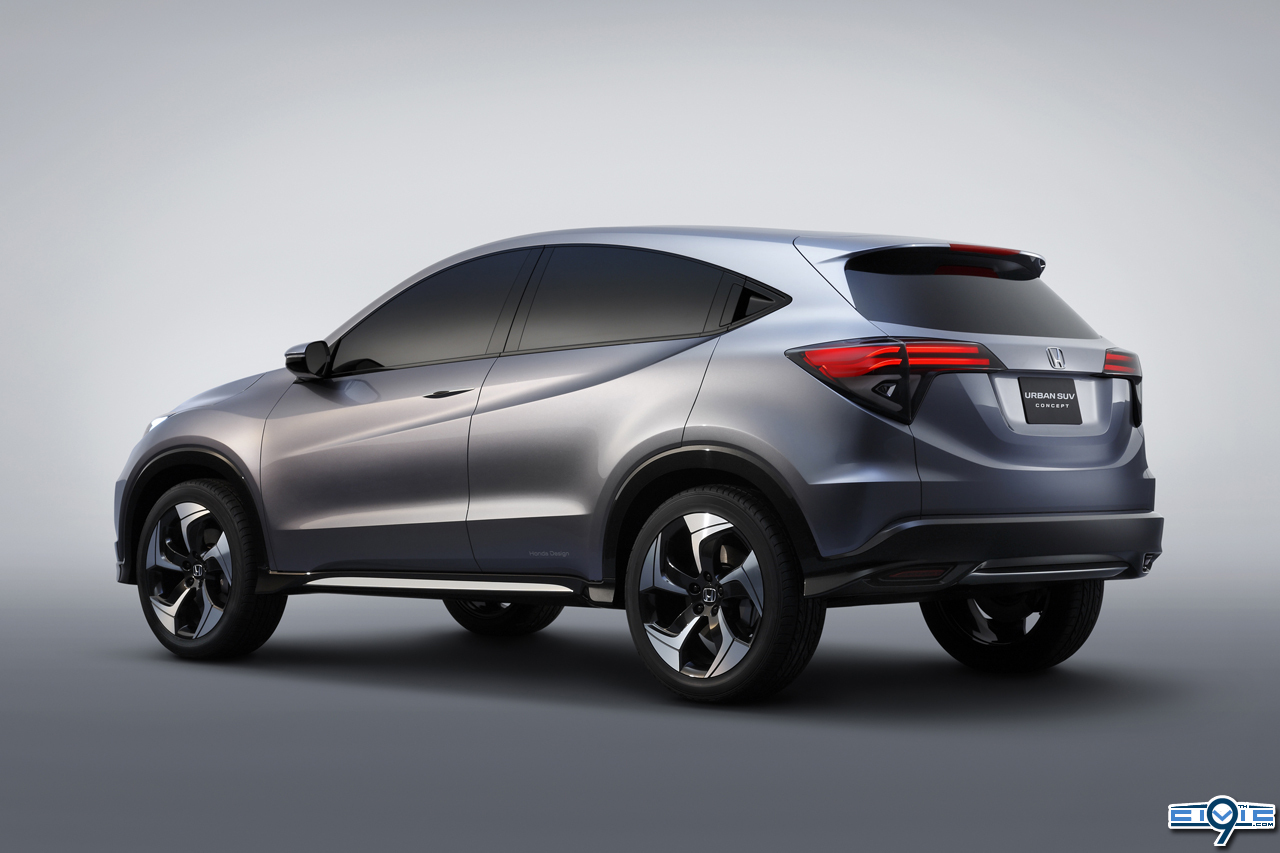 Honda's Urban SUV Concept Unveiled Jan 14th