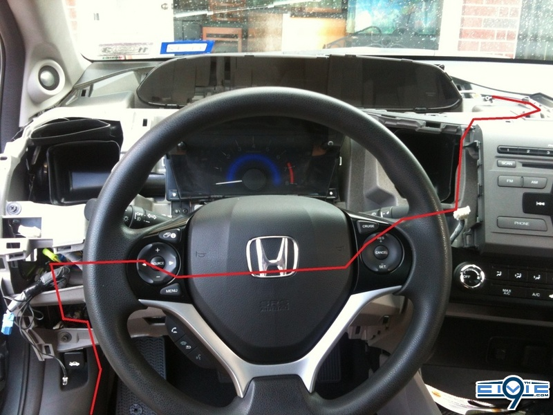 honda civic imid wiring diagram discover your wiring diy adexternal s reverse backup camera diy 9th generation diy reverse rear back up camera heavy pics page 23 moreover 2012 honda civic wiring diagram
