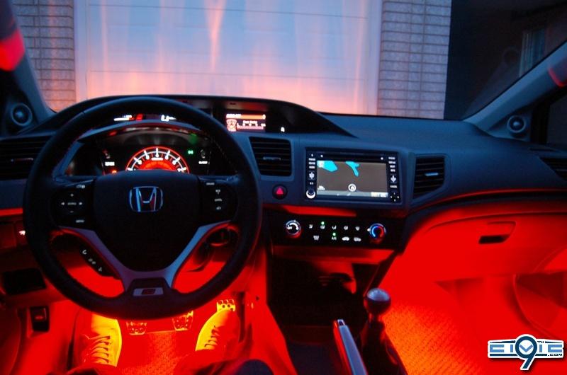Diy Diy Better Interior Ambient Lighting 9th Generation Honda Civic Forum