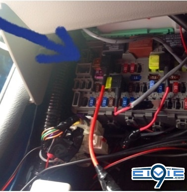 gps4 diy wiring a gps to fusebox 9th generation honda civic forum House Fuse Box Diagram at bayanpartner.co