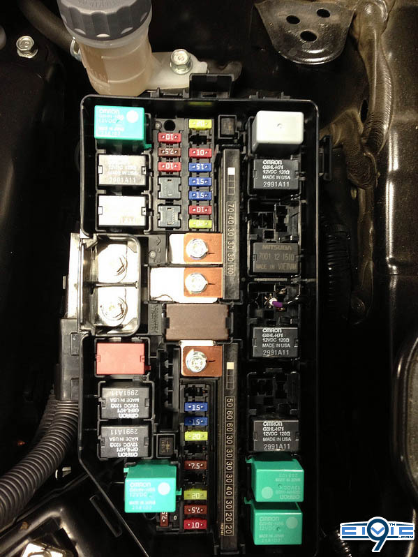 Civic Si Fuse Box - Wiring Diagram