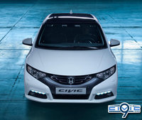 Highlight for album: 2012 Euro Honda Civic Unveiled At Frankfort