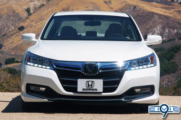 Honda Shows Off 2014 Accord Plug In Hybrid 9th Generation Honda