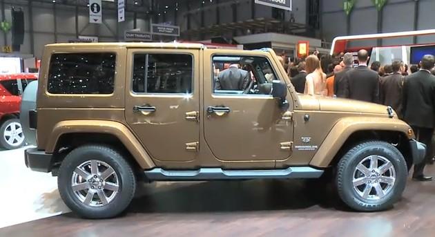2012 Jeep Wrangler Fuel Economy Figures Improve