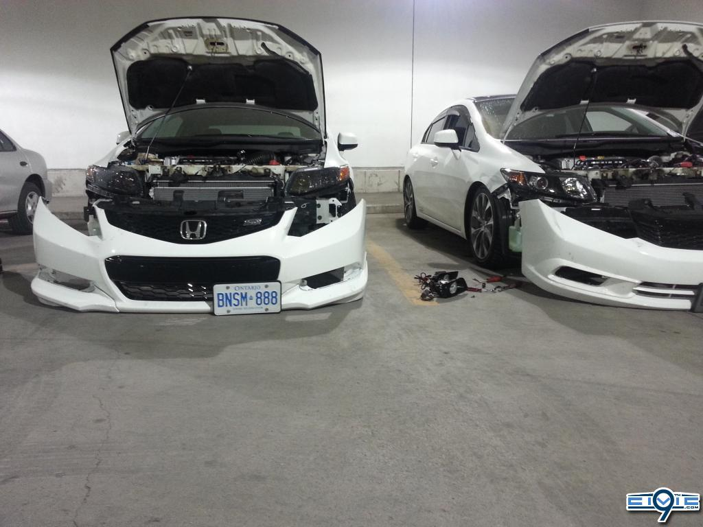 Honda Civic Si 2014 Grey