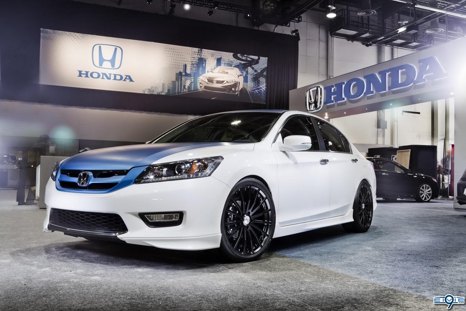 2013 Honda Accord Coupe & Sedan At Sema | 9th Generation Honda Civic ...