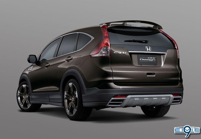Mugen Shows Off Honda Crv Design 9th Generation Honda