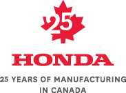 Its Been 25 Years Since We Opened Our First Manufacturing Plant In Alliston Ontario And The Honda Built On Canadian Soil Rolled Off Line