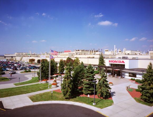 Honda plants earn 2011 energy star 9th generation honda for Honda east liberty ohio