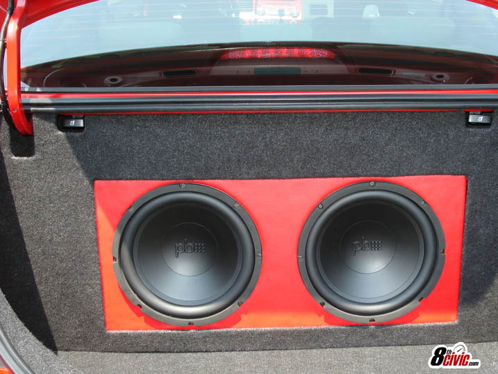 Add Subwoofer To Premium Sound 9th Generation Honda