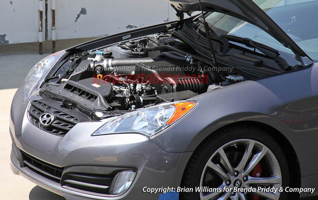 Supercharged Hyundai Genesis Coupe In The Works 9th